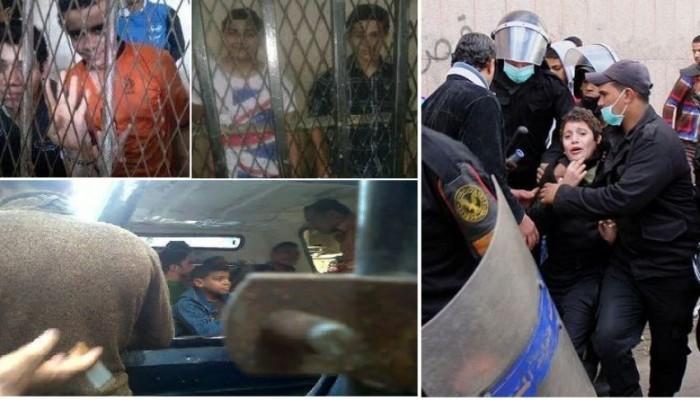 طفل معتقل : نفسي أرجع بيتي ومدرستي وألعب براحتي