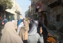ثوار بني سويف يتنفضون من جديد ضد الانقلاب