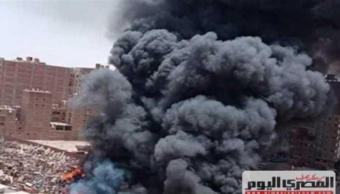 مصرع عامل وإصابة 7 فى حريق بمصنع إسفنج بالشرقية