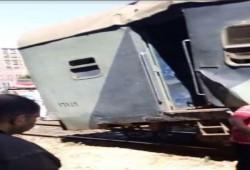 في أقل من 12 ساعة حادثة قطار ثانية في مصر