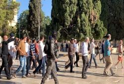138 مستوطنًا يقتحمون المسجد الأقصى