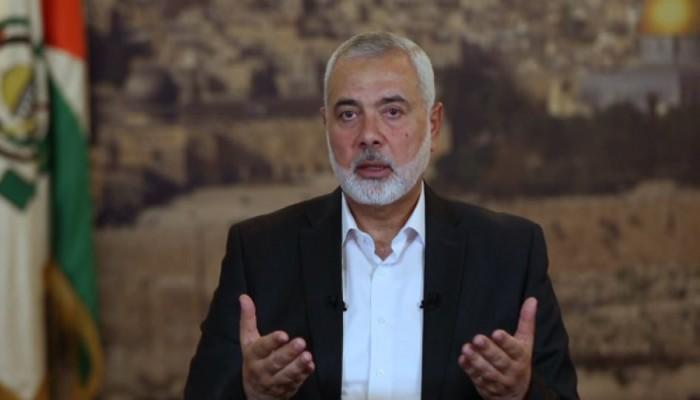 هنية ينعى الداعية محمد بارود