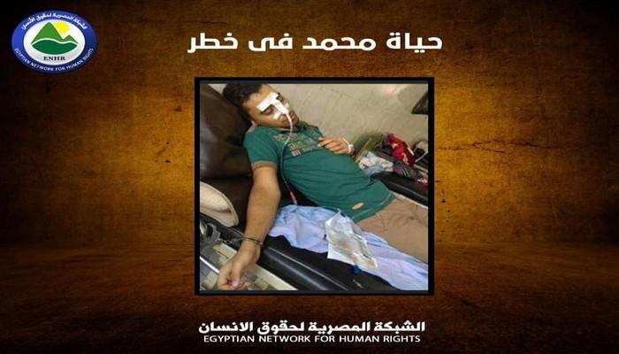 شبكة حقوقية تطلق استغاثة لانقاذ معتقل في حالة خطيرة