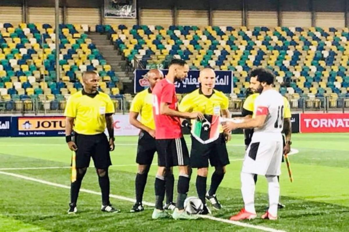 مصر تفوز على ليبيا وتتصدر مجمعتها في تصفيات كأس العالم