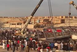 مصرع شخصان وإصابة ثالث في انهيار جسر مشاة جنوبي سيناء