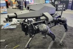 إنتاج روبوت عسكري على هيئة كلب بمواصفات غير مسبوقة